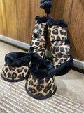 PRE-ORDER! Leopard complete set (beenschermers, springschoenen & halsterset)_