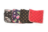 New! Saddle pad 'Red Velvet'_