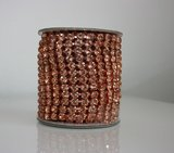 6mm (SS28) Rosegold (Rosegold cups)_