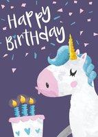 Kaartje - Happy Birthday