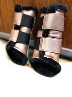 NIEUW! Rosegold brushing boots