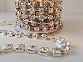 8mm (SS40) Crystal (zilveren cups)