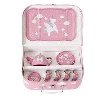 Unicorn servies in koffer