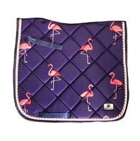 New! Saddle pad 'Flamingo'