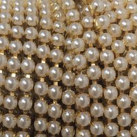 3mm (SS12) parels (gouden cups)
