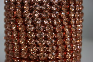 6mm (SS28) Rosegold (Rosegold cups)
