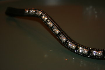 3-6-3 crystal + parels/zwart COB