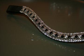 3-3-6-3-3 Black Diamond, crystal & Jet COB