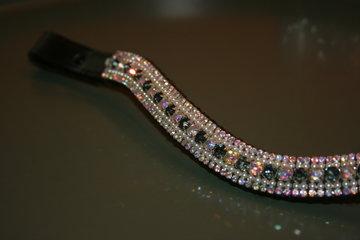 3-3-6-3-3 AB Crystal & Black Diamond COB