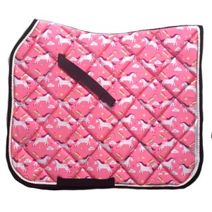 Unicorn zadeldek Pink