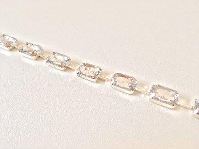 rectangle Crystal (zilveren cups)