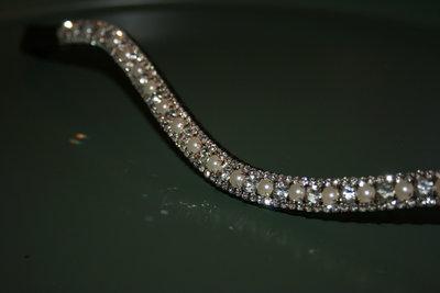 Cob - 3-6-3mm pearls & crystal